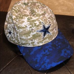 Dallas Cowboys - Salute to Service- Adjustable Hat